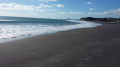 Oakura Beach, New Plymouth District, last day of Autumn